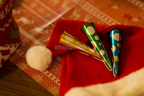 クリスマスグッズの写真素材 [FYI00042807]