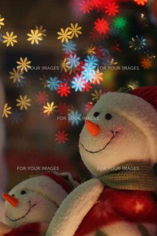 冬用人形素材1の写真素材 [FYI00042907]