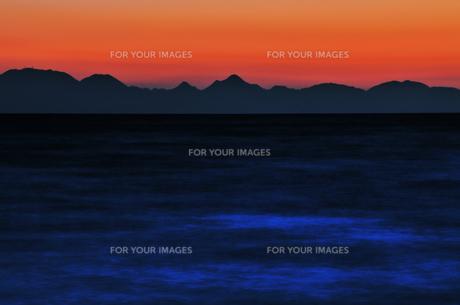 瀬戸内海の日没の素材 [FYI00043099]