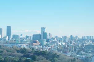 新宿から見た六本木方面の風景の素材 [FYI00043384]