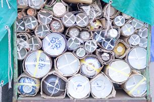梱包された陶器の写真素材 [FYI00043556]