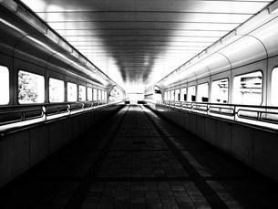 歩道橋の写真素材 [FYI00043688]