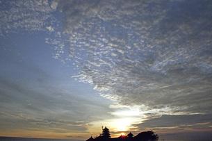 タナロット寺院の夕景の素材 [FYI00043758]