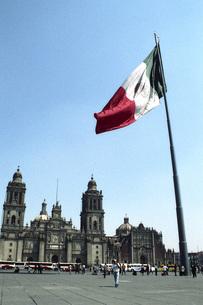 メキシコシティーの風景の素材 [FYI00043776]