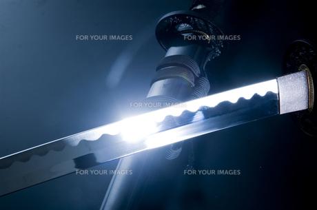 日本刀3の写真素材 [FYI00043922]