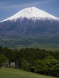 静岡県富士宮市から見た富士山の素材 [FYI00044487]