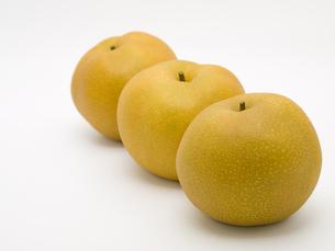 3個の豊水梨の素材 [FYI00044521]