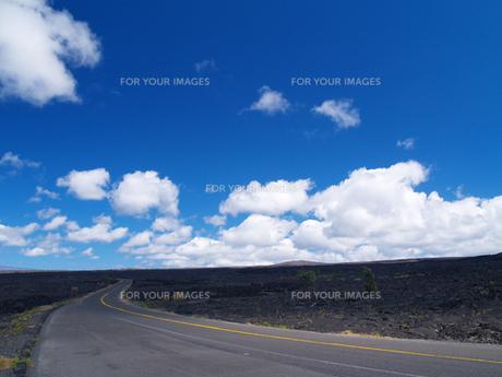 ハワイ島のチェーンオブクレーターズロードの素材 [FYI00044549]