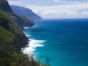 カウアイ島のナパリコーストの素材 [FYI00044587]