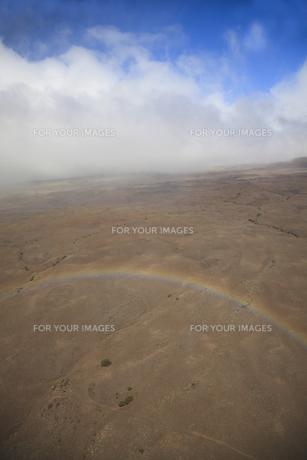 ハワイ島の虹の素材 [FYI00044739]