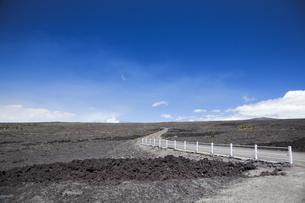 ハワイ島のチェーンオブクレーターズロードの素材 [FYI00044765]