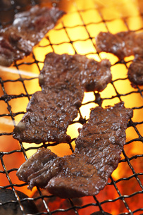 焼肉の写真素材 [FYI00045192]