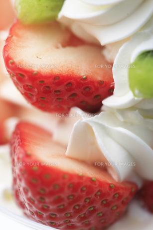 イチゴケーキの写真素材 [FYI00045263]