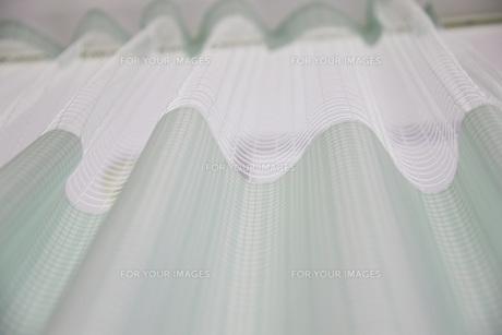 病室のカーテンの写真素材 [FYI00045555]