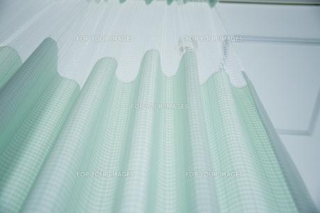 病室のカーテンの写真素材 [FYI00045562]