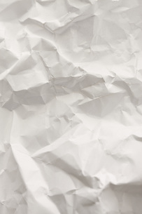 しわくちゃの紙の写真素材 [FYI00045598]