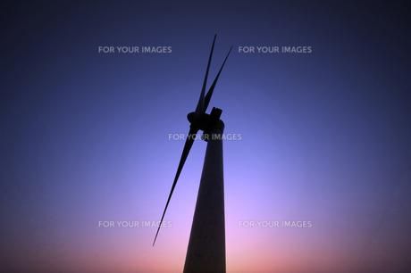 風力発電の写真素材 [FYI00046030]