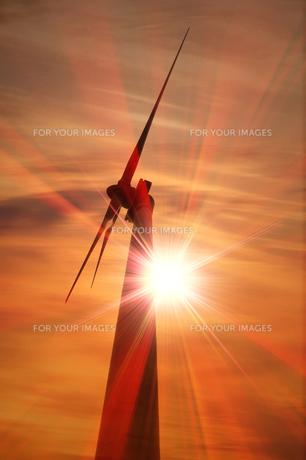 風力発電の写真素材 [FYI00046070]