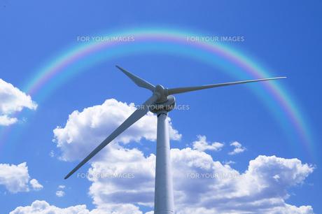 風力発電の写真素材 [FYI00046077]