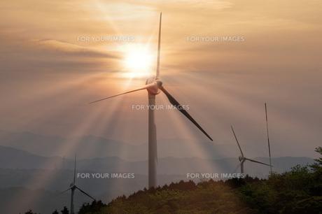 風力発電の写真素材 [FYI00046080]