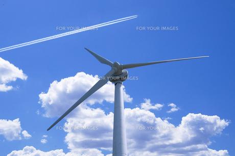 風力発電の写真素材 [FYI00046083]