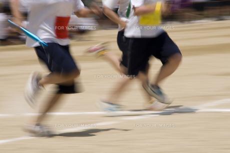 運動会の写真素材 [FYI00047011]