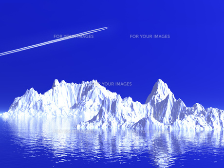 氷山の写真素材 [FYI00047061]