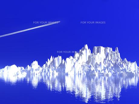 氷山の写真素材 [FYI00047063]