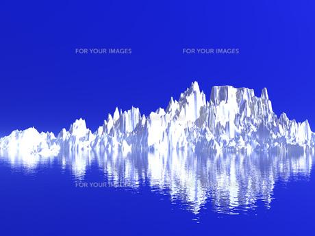 氷山の写真素材 [FYI00047072]