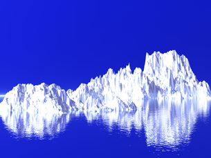 氷山の写真素材 [FYI00047076]
