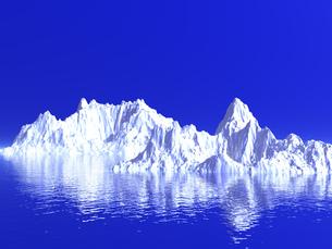 氷山の写真素材 [FYI00047078]
