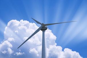 風力発電の写真素材 [FYI00047224]