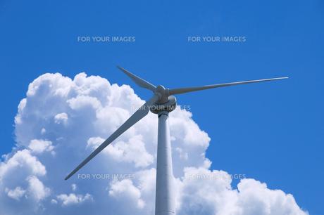 風力発電の写真素材 [FYI00047231]