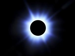 皆既日食の写真素材 [FYI00047432]