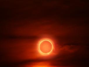 金環日食の写真素材 [FYI00047435]