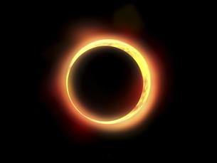 金環日食の写真素材 [FYI00047445]