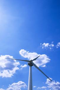 風力発電の写真素材 [FYI00047711]