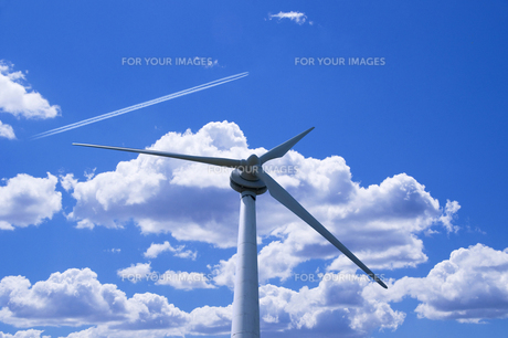 風力発電の写真素材 [FYI00047715]