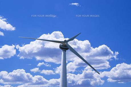 風力発電の写真素材 [FYI00047726]