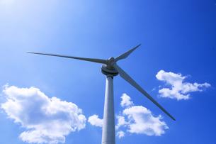 風力発電の写真素材 [FYI00047728]