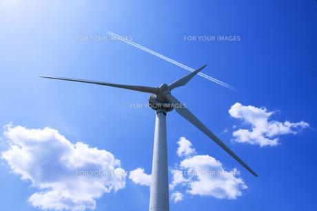風力発電の写真素材 [FYI00047729]
