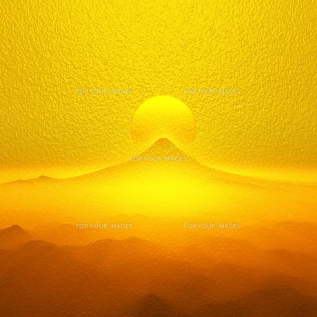 富士山の日の出の写真素材 [FYI00047929]