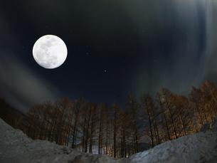 今宵は満月の写真素材 [FYI00048453]