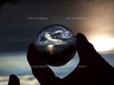 景色玉 光海の写真素材 [FYI00048471]