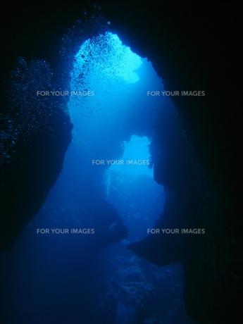 ブルーホールの写真素材 [FYI00048484]