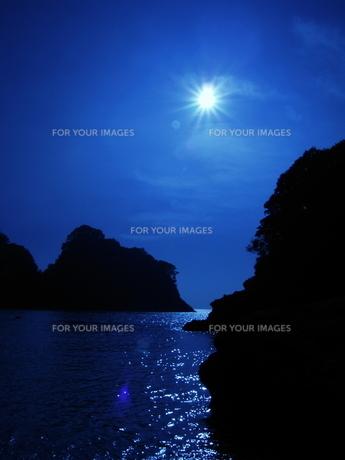 オールブルー ムーンライトの写真素材 [FYI00048485]