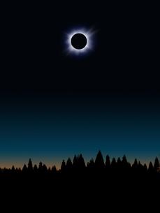 日食の写真素材 [FYI00049292]