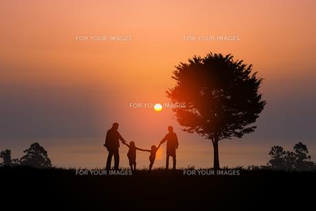 家族の写真素材 [FYI00049327]