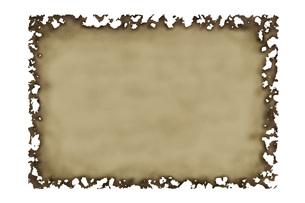 古い紙の写真素材 [FYI00049419]