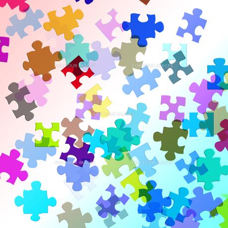 ジグソーパズルの写真素材 [FYI00049464]